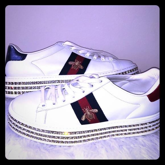 516dee264 Gucci Shoes - Diamond bottom Gucci shoes